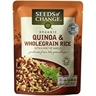 Seeds of Change Organic Quinoa & Wholegrain Microwaveable Rice, 240g