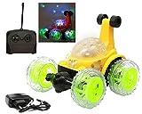 #8: MANAN Stunt Car Big Size Remote Musical Flashing Lights Radio Control Car 360 Stunt CAR Ben 10 CAR Lighting CAR