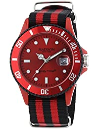Madison New York analog Sailor Red dial Unisex watch - U4616-27/1