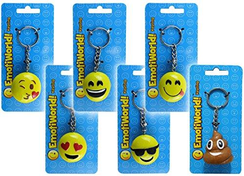 Emoji 6 Portachiavi FACCINE Emotion 3.5
