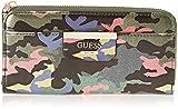 Guess Bobbi, Women's Wallet, Multicolour (Green Camo/Gcm), 21x10x2 cm (W x H L)