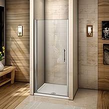 Porte douche pivotante - Porte de douche extensible ...