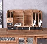 Schreibtischablage-Loft-Organizer-Briefablage-Buero-Schreibtisch-Ablage Palazzo Exklusiv