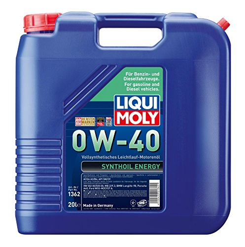 Preisvergleich Produktbild Liqui Moly 1362 20L Motoröl 0W-40