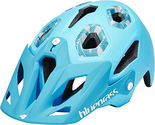 Elizabeth Arden Bluegrass Eyes Golden Eye Helmet Cyan 2016 Mountainbike Helm Downhill, L