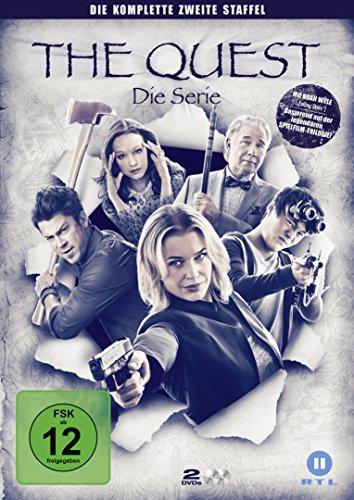 The Quest - Die Serie, die komplette zweite Staffel [2 DVDs] - Barbara Rogers