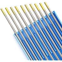 10x Wolfram Elektrode 2,4x 175 WL15 Wig Nadeln Gold Schweißgerät AC/DC Argon Gas