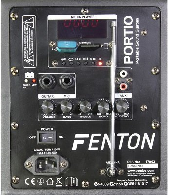 Fenton-FPS10-System-Notebook-Sound-10-schwarz