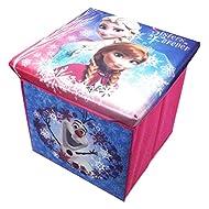 FROZEN - Baúl guardajuguetes con asiento de espuma de Frozen