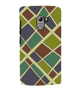 printtech Abstract Pattern Back Case Cover for Lenovo Vibe K4 Note