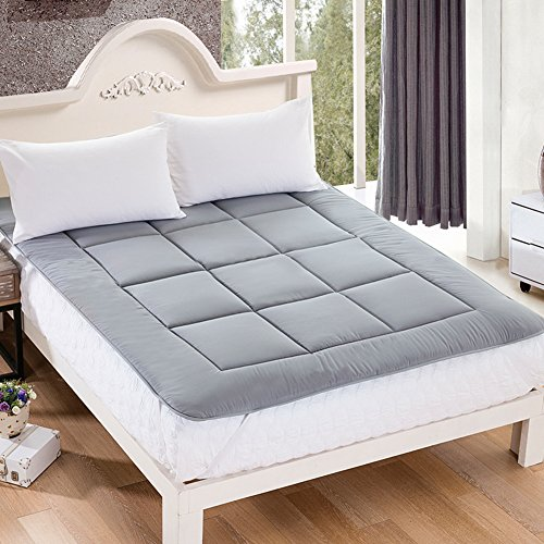 HYXL Verdickung Anti-Rutsch Boden Matratze,Faltbare Tatami matratze Komfort-Portable Pad matratzenbezug überfüllt Nap-Matte Wohnheim matratze Bett Pad Anti-Rutsch-A 150x200cm(59x79inch)