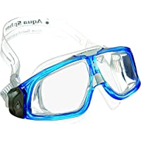 Aqua Sphere Seal 2.0 Goggles with Clear Lens, Colors- Blue