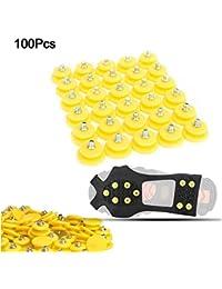 Cinco Bee 100 Piezas Paquete de Tacos Antideslizantes para Nieve 8b36cf54a50cf