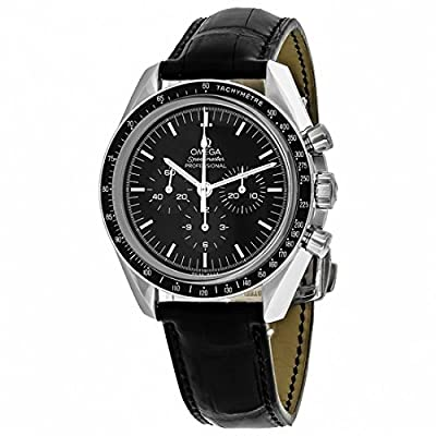 Omega Men's Automatic Watch with Black Chronograph Rubber 31133423001002