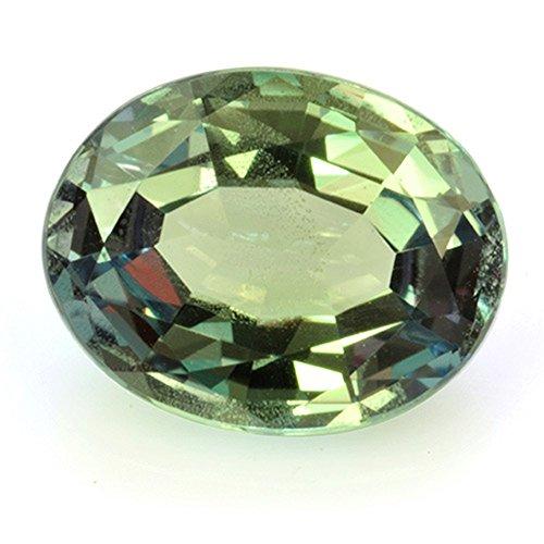 natural alexandrit piedras preciosas con un precioso Cambio de color–5,74X 4,48mm–con valor Expertise