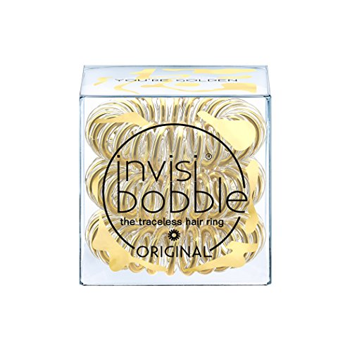 Invisibobble Time To Shine Collection You're Golden, 1er Pack, (1x 3 Stück)