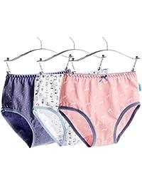 Frauen-Mädchen-Dame Striped Panties Boxer Short Underpants Underwear Soft Briefs