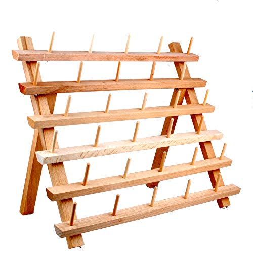 NW Gewinde Halter Holz Nähen und Stickgarn Rack und Organizer Gewinde Rack für Nähen 30-spool