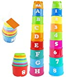 Vidatoy Brilliant Colorful Stacking & Ne...