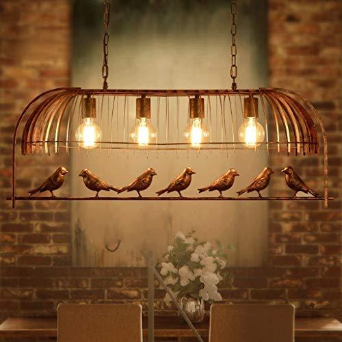 Pendelleuchte Amerikanischen Retro Vogelkäfig Kreative Restaurant Beleuchtung Schmiedeeisen Persönlichkeit Einfache Kaffee Bar Schreibtisch Schreibtisch Studie Beleuchtung.