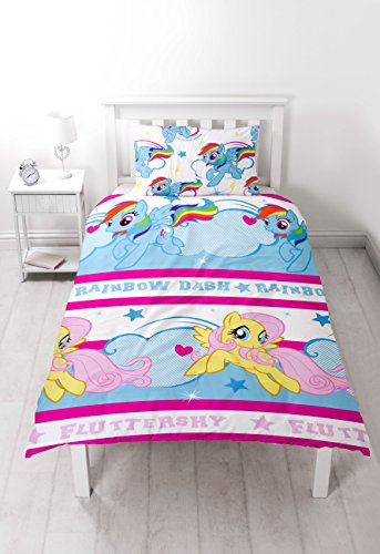 My Little Pony Official Reversible Single Duvet – Multi-Colour