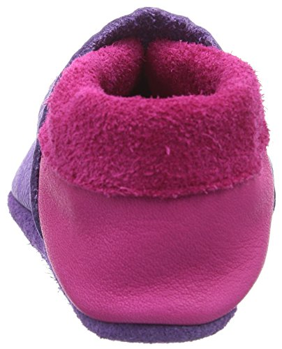 Pololo Sweetiepie, Chaussons courts, non doublées fille Violet - Violett (Lilac)