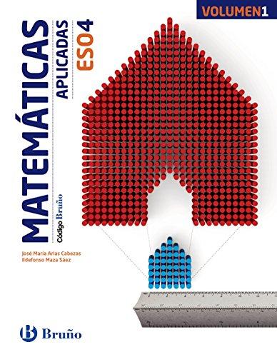 Código bruño matemáticas aplicadas 4 eso - 3 volúmenes