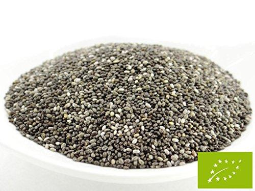 pikantum Bio Chia, Chiasamen, Chiasaat, kbA, 1000g, 1kg