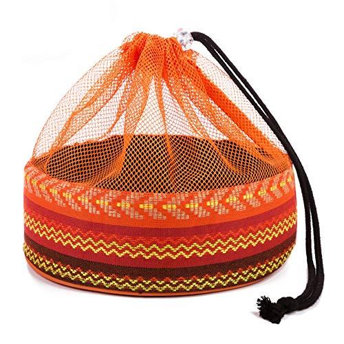 OTENGD Aufbewahrungstasche für Essgeschirr zum Schutz oder Transport von Essgeschirr Runder Teller Tragbares Picknickgeschirr-Paket für Camping-Picknick im Freien (Lagerbehälter Organisation)