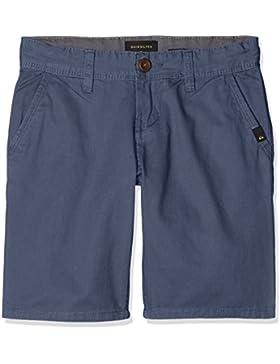 Quiksilver Everyday Light Pantalones Cortos, Niños, Azul (Vintage Indigo), XS