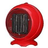 YSCCSY Keramik Raumheizung Elektrische Winterwärmer Fan Dropshipping 220 V 500 Watt Heizung Tragbare Handliche Langlebige Qualität Mini Persönliche,Red