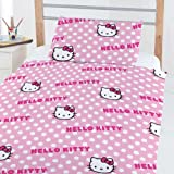 Hello Kitty 4 in 1 Junior Bundle Bed Set (Duvet + Pillow + Covers)