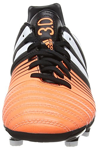 adidas Nitrocharge 3.0 TRX Firm Ground, Chaussures de Football Pour Compétition Homme Noir - Schwarz (Core Black/FTWR White/Flash Orange S15)