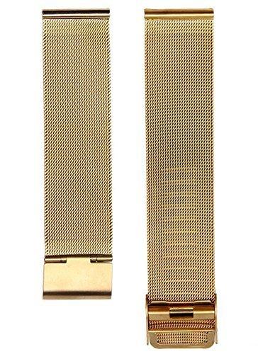 Cinturino 22mm bracciale acciaio metallo maglia milanese per Samsung Gear 2...