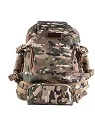 Opuman Exterior Desmontable Impermeable Nylon Tactical Militar Camuflaje Mochila Moda Cintura Bolso Turista Bolsa de hombro para correr Caza Camping Senderismo Viajar Laptop