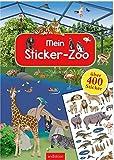 Mein Sticker-Zoo (Mein Stickerbuch)