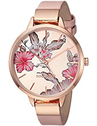 Nine West Analogue Rose Gold Dial Women's Watch - Nw/2044Rgpk