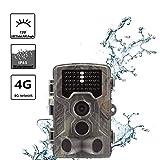 HAOHAODONG Wild Animal Trail Kamera 2,4-Zoll-Bildschirm im Freien Wildkamera Ultra High Definition Wasserdicht Infrarot-Nachtsicht-Überwachungskamera-Jagd-Kamera