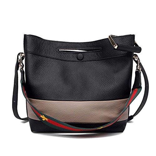 Damen-Ledertasche-Wannen-Beutel-Handtaschen-Art- Und Weisebeiläufige Beutel-Schlag-Farben-lederner Beutel-Schulter-Beutel-Handtaschen-Kurier-Beutel C