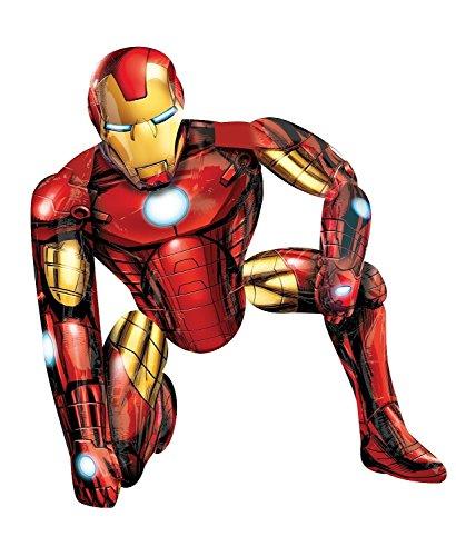 Iron Man Airwalker Ballon - Iron Man, Balloon Only