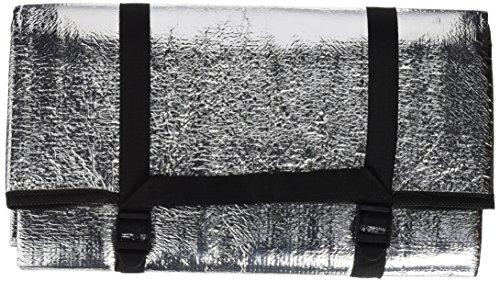 Black crevice black crevice materassino singolo d'alluminio,, argento, taglia unica