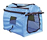 IW.HLMF Tenda Pieghevole Pet Dog Cat Cage Pet Nest Travel Carrier Lavabile Kennel House,A,60 * 47 * 52CM