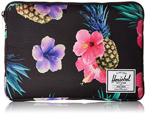 Herschel Anchor Sleeve for Macbook Black Pineapple