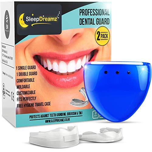 d6445089e49 Férula Dental SleepDreamz - 2 diferentes férulas dentales protectores  bucales diseñados para.