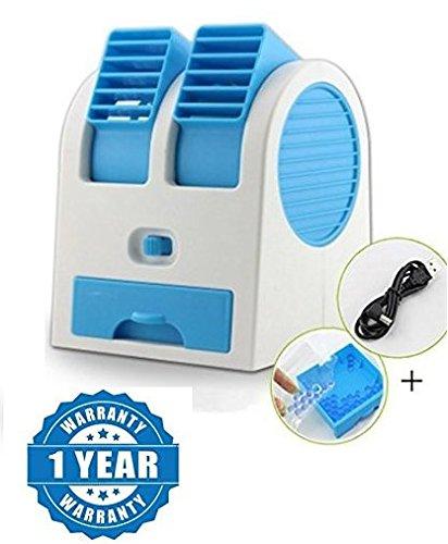 Raptas Portable Dual Bladeless Mini Fan