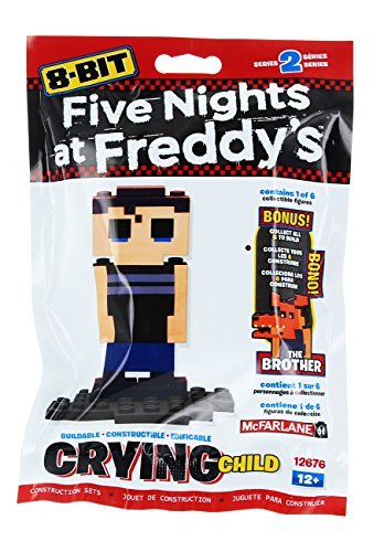 Five Nights at Freddy's 8-Bit Buildable Figure: Crying Child