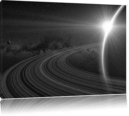 cosmic-plante-saturn-dans-lart-de-lespace-b-w-format-80x60-sur-toile-xxl-normes-photos-compltement-e
