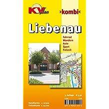Liebenau: 1:12.500 Samtgemeindeplan mit Freizeitkarte 1:25.000 inkl. Radrouten (KVplan Mittelweser-Region / http://www.kv-plan.de/Mittelweser.html)
