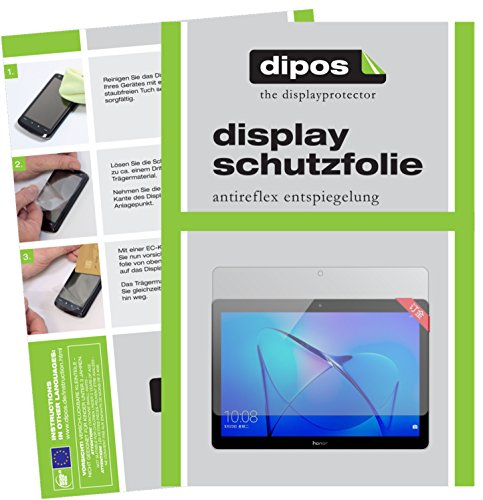 dipos I 2X Schutzfolie matt passend für Huawei Honor Play Pad 2 9,6 Zoll Folie Bildschirmschutzfolie