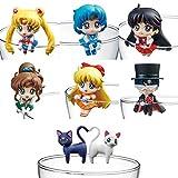 Sailor Moon Pretty Soldier Ochatomo Series Figuras 5 cm Moon Prism Cafe Surtido (8)